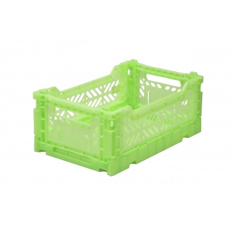 Aykasa folding crate - mini fluorescent