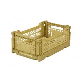 Aykasa folding crate - mini gold