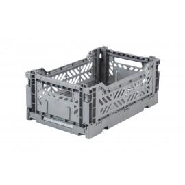 Aykasa folding crate - mini grey
