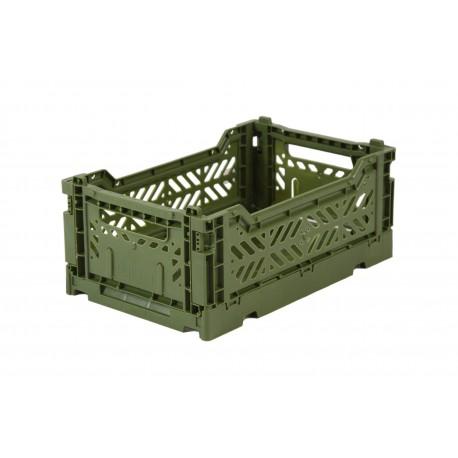 Aykasa folding crate - mini khaki
