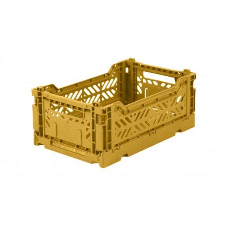 Aykasa folding crate - mini mustard