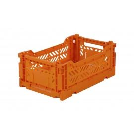 Aykasa folding crate - mini orange