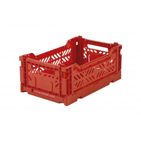 Aykasa folding crate - mini red