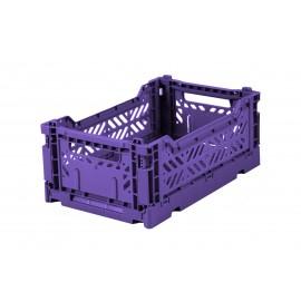 Aykasa folding crate - mini violet