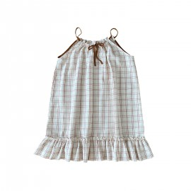 Cara dress - rustic check