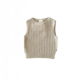 WOMEN Joni vest - milk