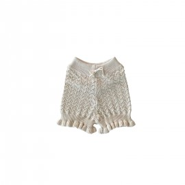 WOMEN Jona knit shorts - milk