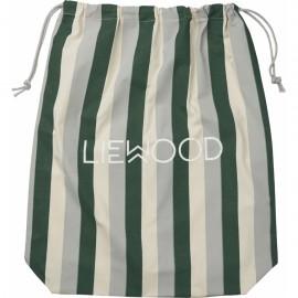 Dust/Gift bag big- green/sandy/dove blue
