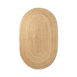 Eternal Oval Jute rug - large/natural