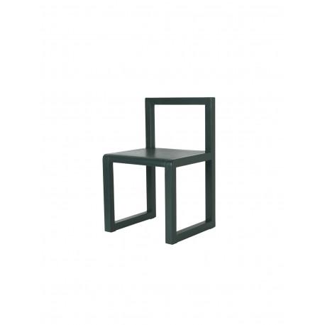 Little Architect chair - dark green