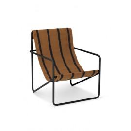 Desert chair KIDS - black/stripe