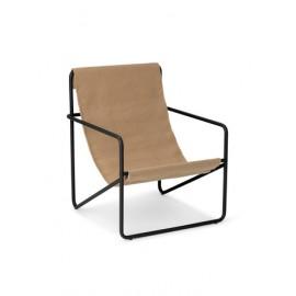 Desert chair KIDS - black/sand