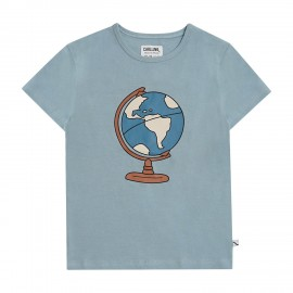 Globe t-shirt with print