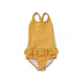Amara swimsuit structure - yellow mellow