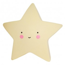 Mini light - star yellow