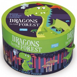 The Dragons in the forest round puzzle