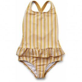 Amara swimsuit -peach/sandy/ yellow mellow
