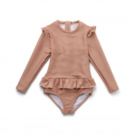 Sille swimsuit - Structure tuscany rose