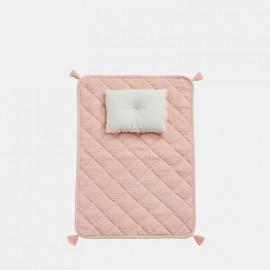 Strolley doll bedding - rose