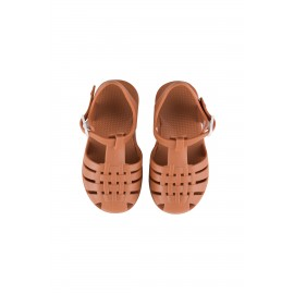 JELLY SANDALS - nut brown