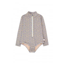 SMALL FLOWERS LS ONE-PIECE