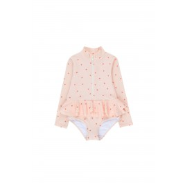 STARFISH FRILLS LS ONE-PIECE