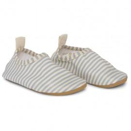 Aster swim shoes - Light blue stripe