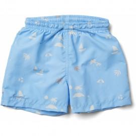 Duke board shorts- seaside sky-blue