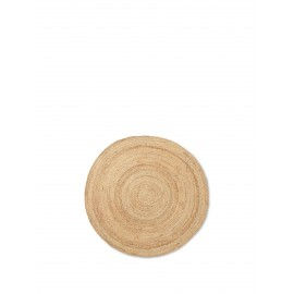 Eternal Round Jute rug - small/natural