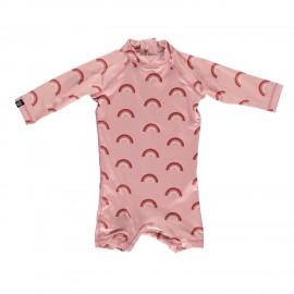 Pink Rainbow Baby Suit