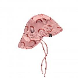 Pink Rainbow Sun Hat UPF50+ (One Size)