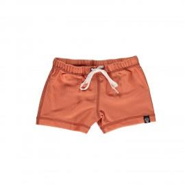 Clay ribbed swim shorts