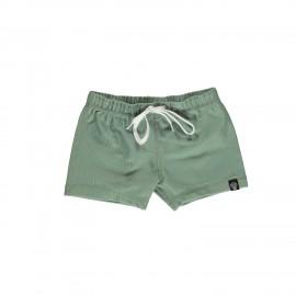 Basil ribbed swim shorts