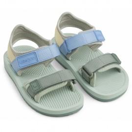 Monty sandals - dusty mint