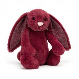 Bashful Sparkly Cassis Bunny Medium