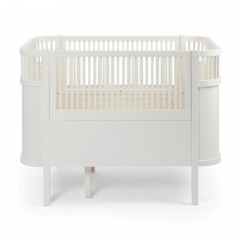 The NEW Sebra Baby & Junior bed white