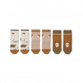 Silas cotton socks - 3pack - Friendship