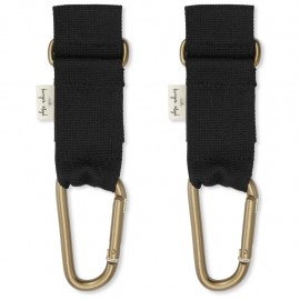 Stroller straps - black