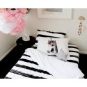 Painted stripe Single Fitted sheet