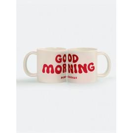 Good Morning mug set