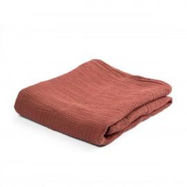 Baby blanket, burgundy red
