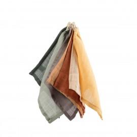Washcloth, 7 pcs., mixed colours