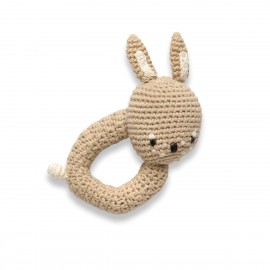 Crochet rattle, Moonlight the hare