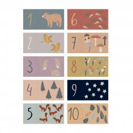 Counting puzzle, 1-10, Nightfall