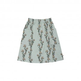 Edelweiss - midi skirt with side pockets
