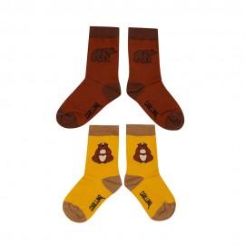 Socks Set - alpine marmot & grizzly