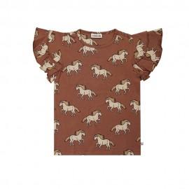 Wild Horse - ruffled shirt