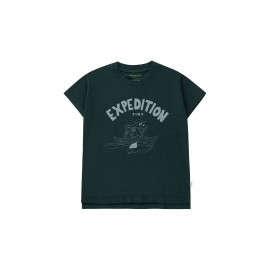 EXPEDITION TINY TEE - BLUE
