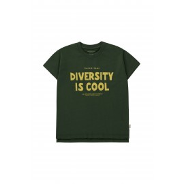 DIVERSITY IS COOL TEE - BLUE