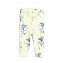Winterflowers newborn leggings